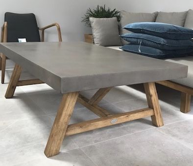 Roma Polished Concrete Coffee Table