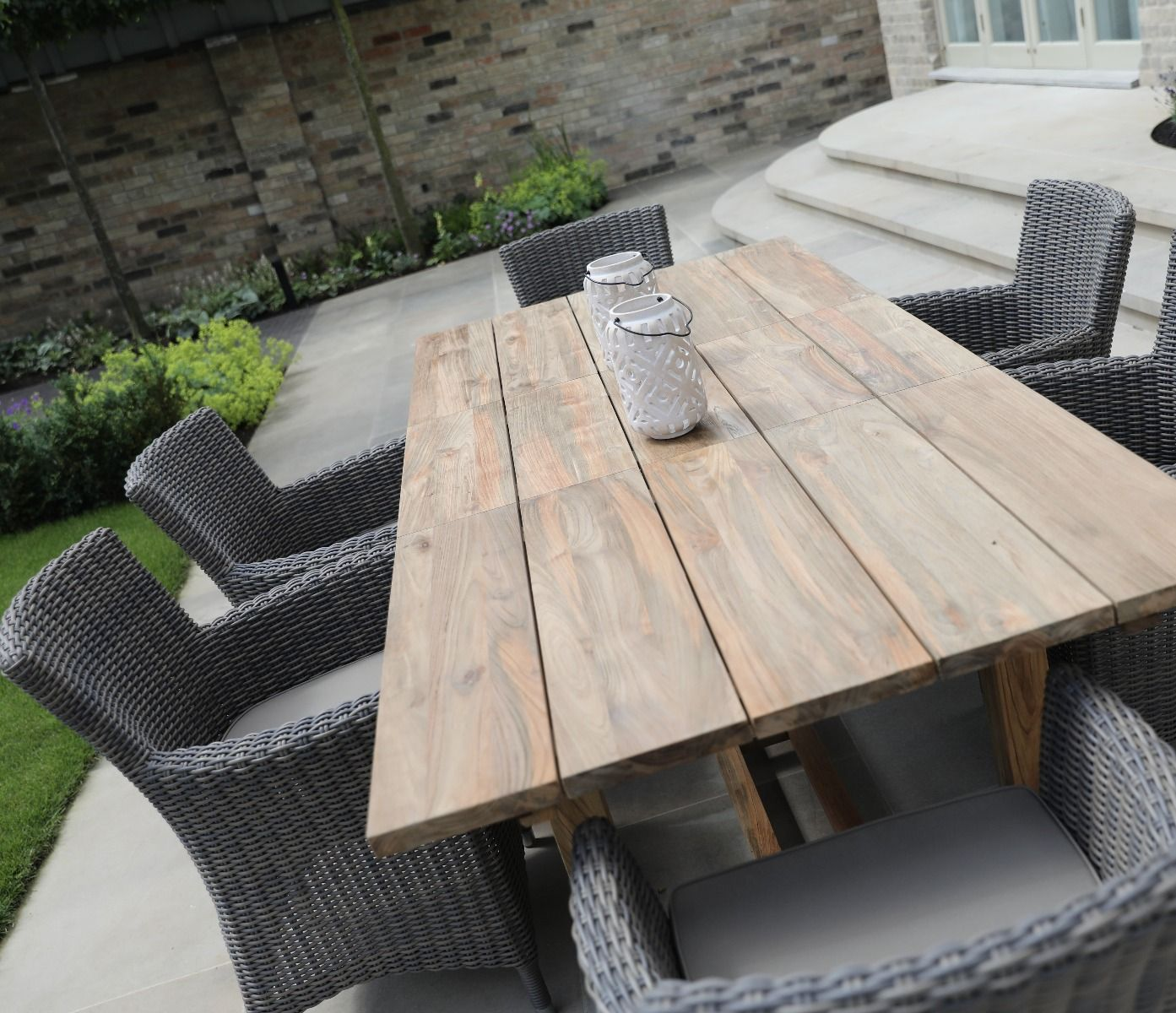 Tuscan Reclaimed Single Extending Table 8cm