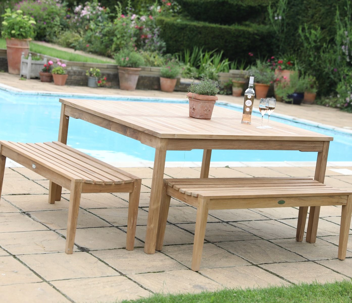 Picture of: Henley Backless Bench Backless Bench Garden Bench Seat
