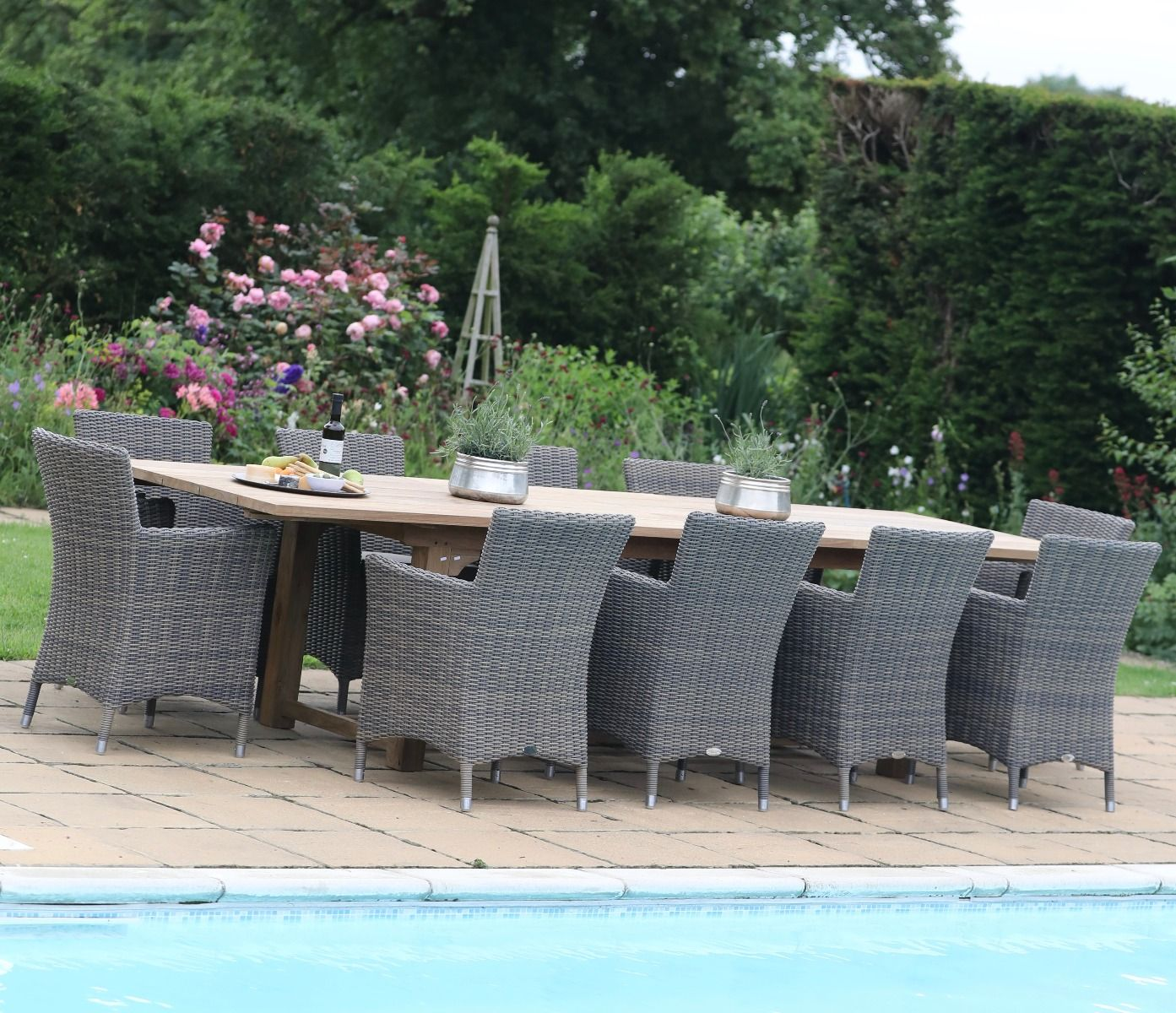 Expandable Outdoor Dining Table Jo Alexander