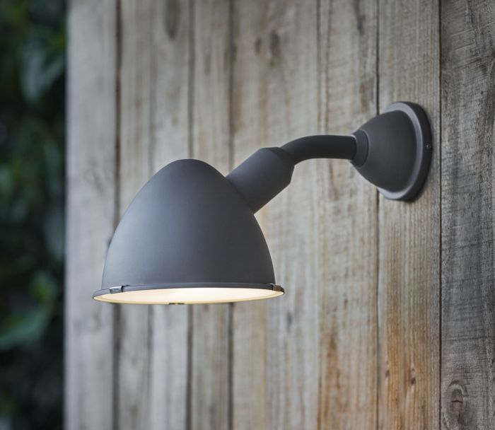 Cheyne Outdoor Wall Light (Charcoal) - DISCONTINUED