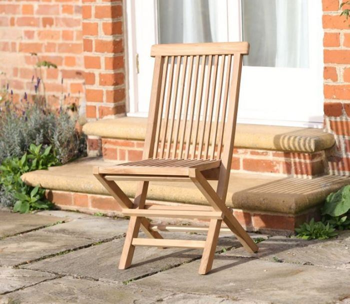 Sussex Teak Folding Chair