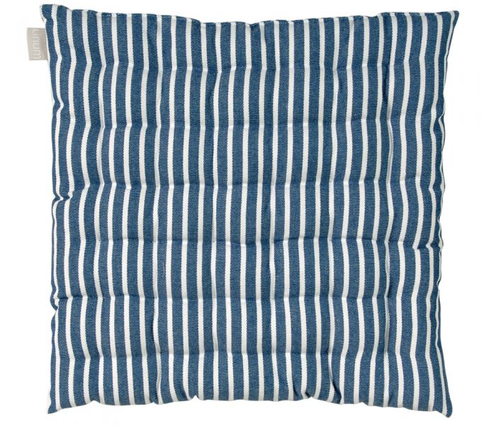 Linum Swedish Design Cushion - Blue Stripe