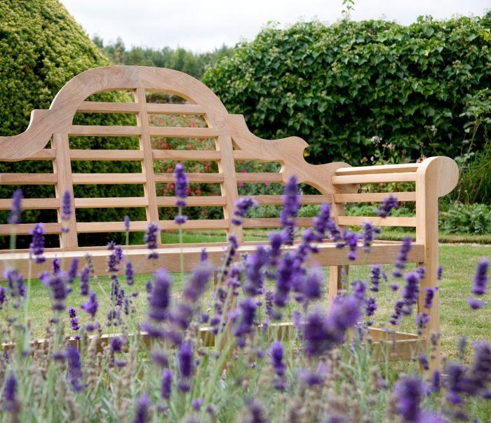 Lutyens Garden Bench 166cm