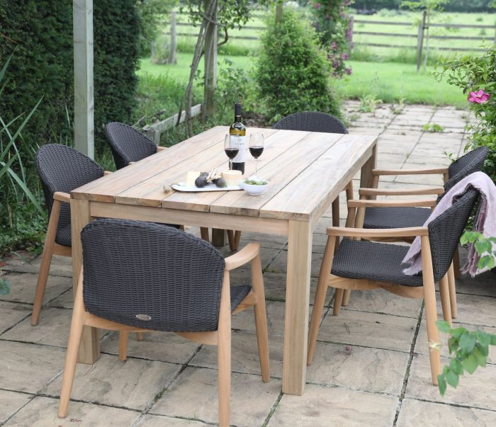 6 seater Tuscan & Harper Table Set