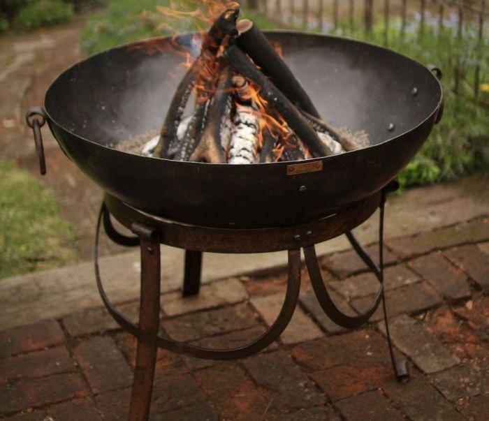 Recycled Kadai Fire Bowl 70cm