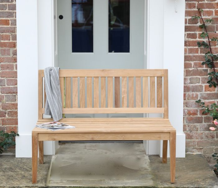 Marlow Armless Garden Bench 120cm