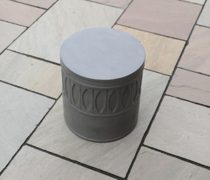 Amara Polished Concrete Stool