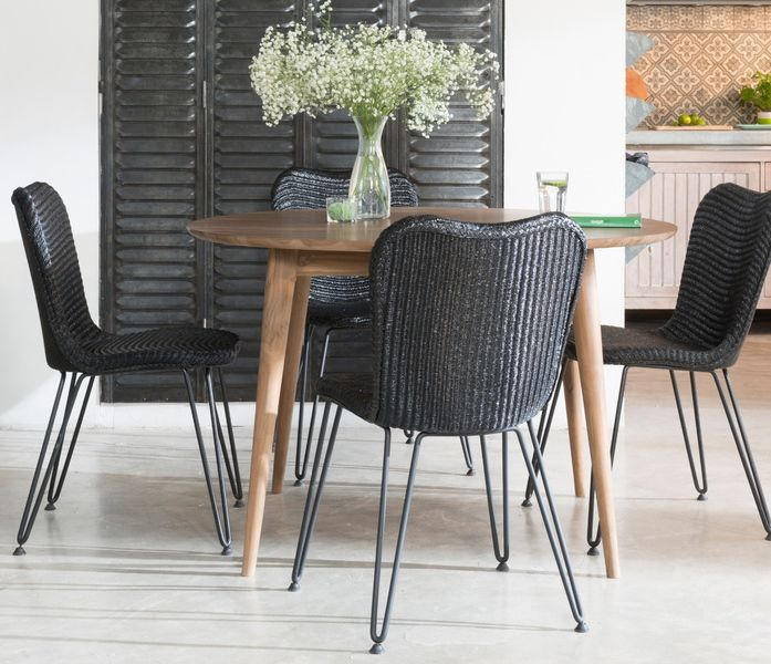 Lloyd Loom Style Dining Chairs