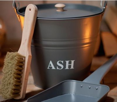 Ash Bucket with Lid