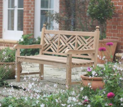 Emily Gray Garden Bench 150cm