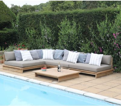 Estel Teak Modular Sofa