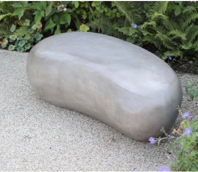 Sculptured Concrete Pebbles (Three sizes)