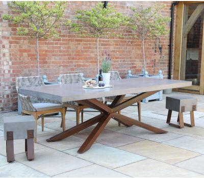 Mira Polished Concrete Table 240cm