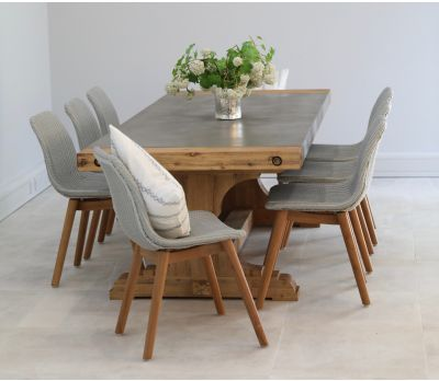 Lichfield Concrete Dining Table 230cm