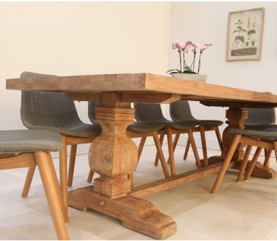 Camille Indoor Trestle Dining Table 250cm
