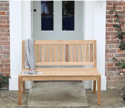 Henley Armless Garden Bench 120cm