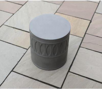 Amara Polished Concrete Stool