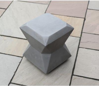 Luna Polished Concrete Stool