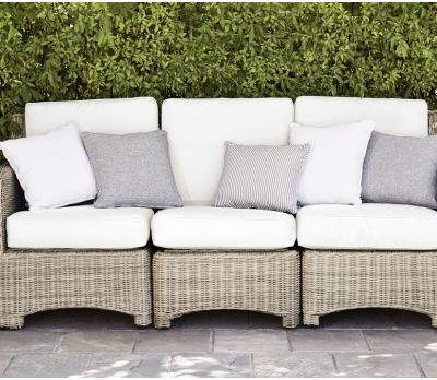 Neptune Wicker Compton Sofa 3 Seater
