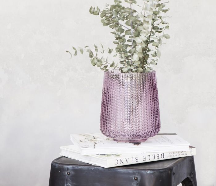 Glass Pillar Lantern/Vase