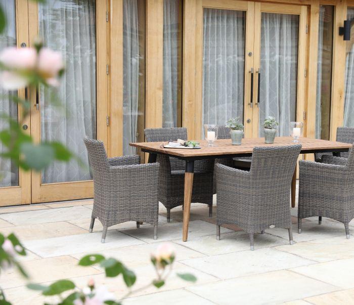 Siena Teak Dining Table 200cm