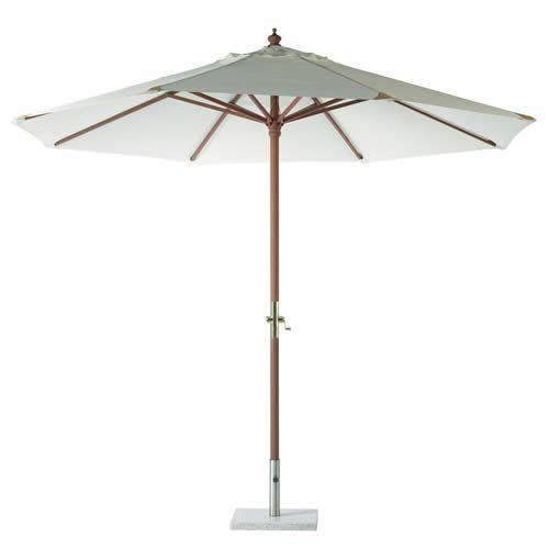 Hardwood Garden Parasol