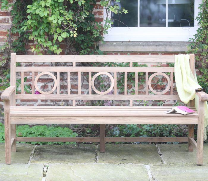 Rosemoor Reclaimed Garden Bench 184cm