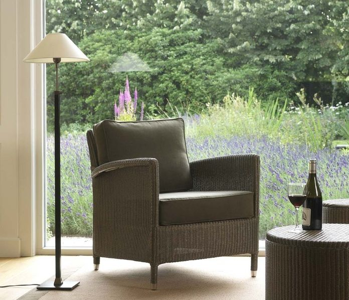 Lloyd Loom Style Wicker Chairs