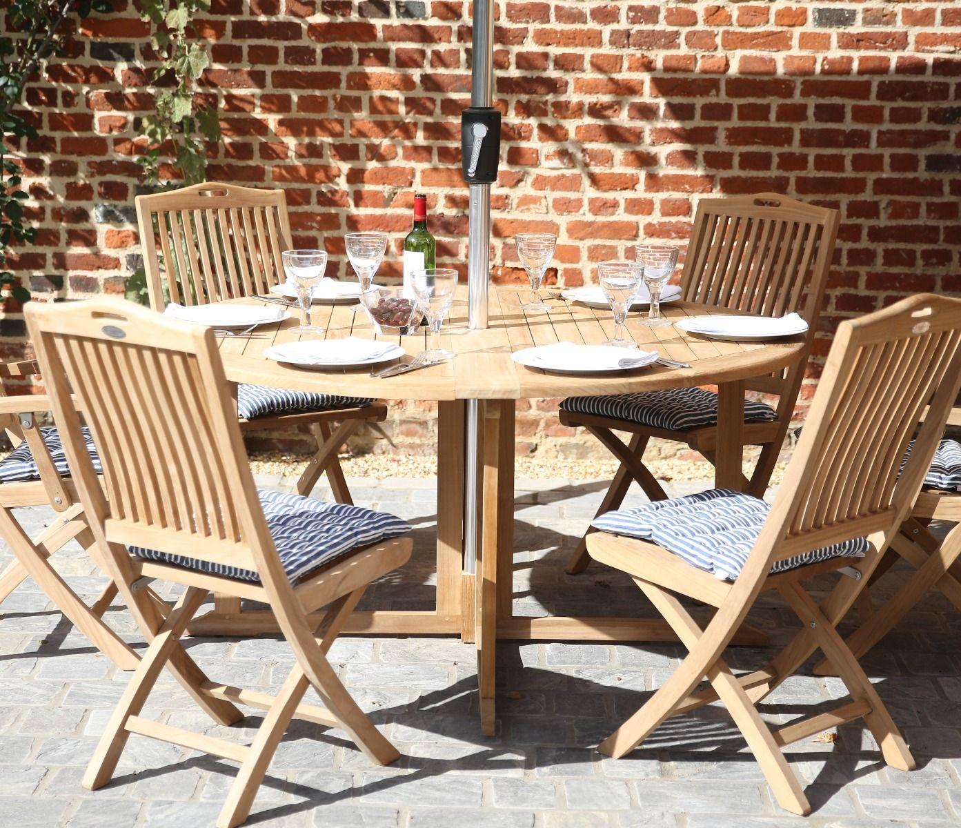 Teak Gateleg Dining Table