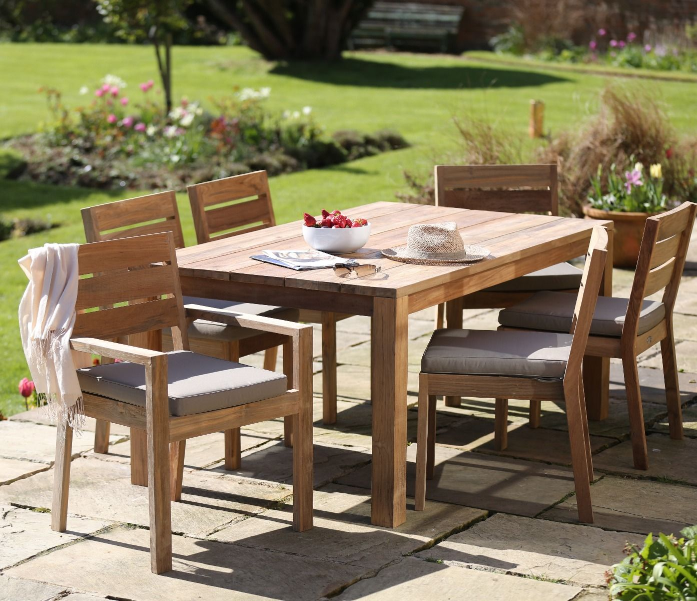 Outdoor Patio Furniture Under 200: Tuscan Reclaimed Outdoor Table 220cm