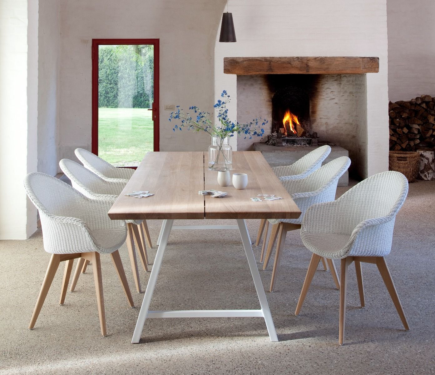 Albert Rectangle Dining Table A Frame