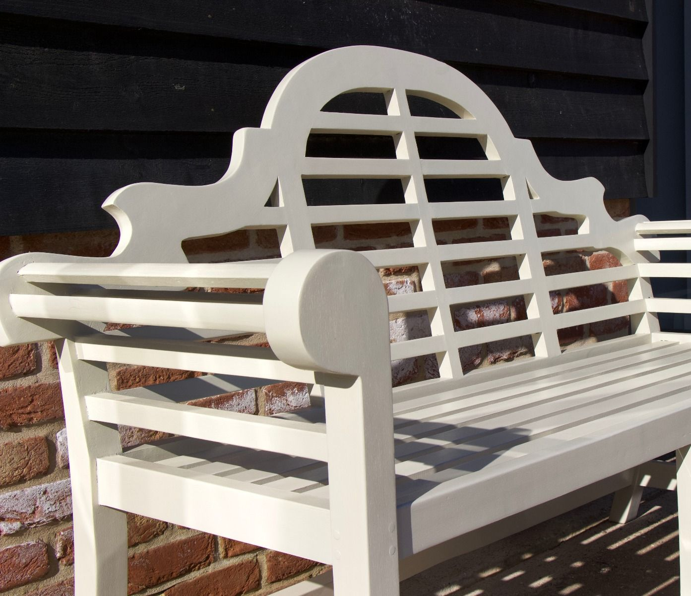 Prime Lutyens Garden Bench 166Cm Painted Ibusinesslaw Wood Chair Design Ideas Ibusinesslaworg