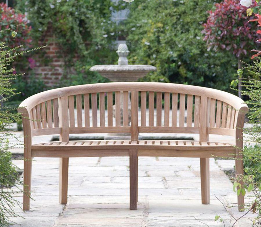 furniture garden world bench around teak is patio the best a