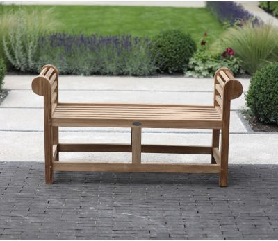 Lutyens Backless Bench 136cm