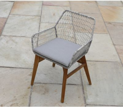 Chelsea Wicker/Teak Armchair
