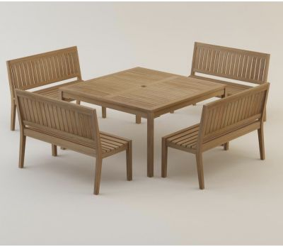 Henley Square Table 140 cm