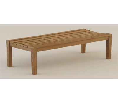 Henley Backless Bench 120cm