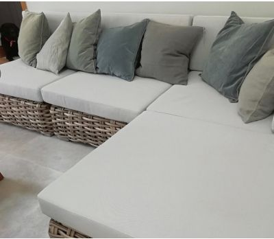 Avignon Wicker Modular Sofa