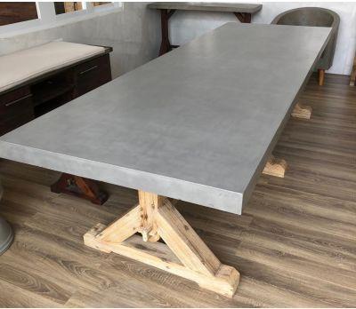 Castra Concrete Dining Table 220 cm & 300 cm