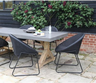 Castra Concrete Dining Table - 220cm