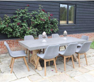 Castra Concrete Dining Table - 300cm