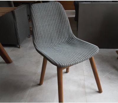 Clover Lloyd Loom Dining Chair - Grey Wash