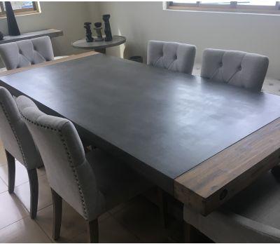 Lichfield Concrete Dining Table 230 cm