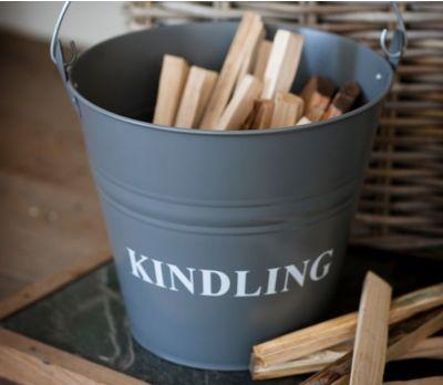Kindling Bucket Charcoal