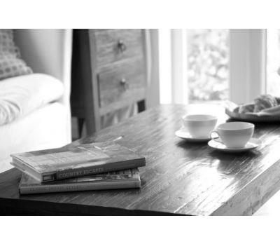 Reclaimed teak coffee table