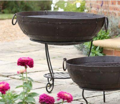 Recycled Kadai Fire Bowl 80cm