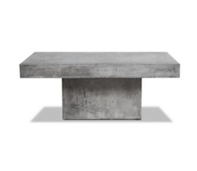 Seville Polished Concrete Coffee Table