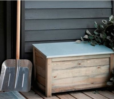 Wooden Garden Storage Box