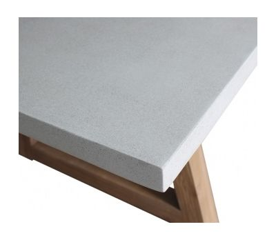 Turin Resin Concrete Table 3m